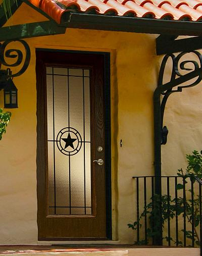 Elegant Star Wrought Iron