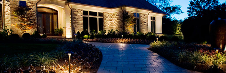 Residential Landscape Lighting Transformations from Inspired by Glass in St. Louis, Missouri